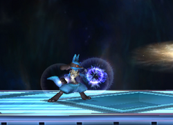 Ataque normal Lucario SSBB (1)