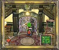Las escaleras (Luigi's Mansion)