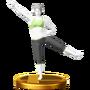 Trofeo de Entrenadora de Wii Fit U SSB4 (Wii U)