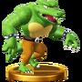 Trofeo de Kritter SSB4 (Wii U)