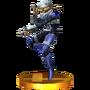 Trofeo de Sheik SSB4 (3DS)