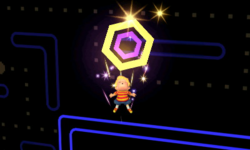 Ataque Smash hacia arriba de Lucas en SSB4 (3DS)