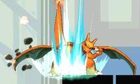Ataque smash inferior Charizard (3) SSB4 (3DS)