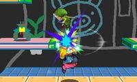 Lanzamiento hacia arriba de Wario (2) SSB4 (3DS)