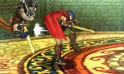 Lanzamiento hacia atrás Ike (1) SSB4 (3DS)