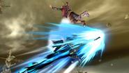 Movimiento especial lateral de Bayonetta (3) SSB4 (Wii U)