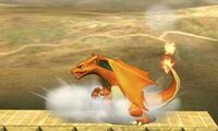 Pose de espera de Charizard (2) SSB4 (3DS)