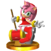 Trofeo de Amy SSB4 (3DS)
