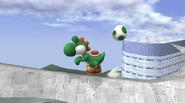 Yoshi usando puesta SSBB 2