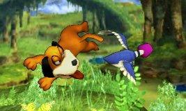 Ataque aéreo delantero de Dúo Duck Hunt SSB4 (3DS)