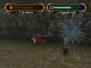 Golpe crítico Ike Fire Emblem Path of Radiance
