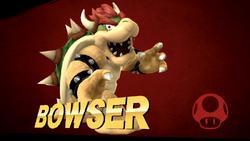 Pose de victoria de Bowser (2-2) SSB4 (Wii U)