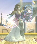 Transformación Zelda SSBB