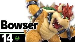 14 Bowser – Super Smash Bros