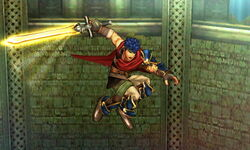Ataque aéreo normal Ike (2) SSB4 (3DS)