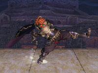 Ataque fuerte lateral Ganondorf SSBB