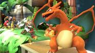 Créditos Modo Leyendas de la lucha Charizard SSB4 (Wii U)