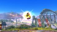 Karateka Mii usando Golpe Martillo (1) SSB4 (Wii U)