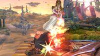 Lanzamiento hacia abajo (1) Zelda SSB4 Wii U