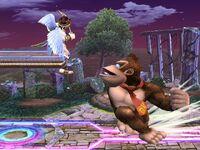 Lanzamiento trasero Donkey Kong SSBB