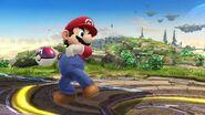 Mario a punto de lanzar una Maste Ball SSB4