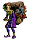Pegatina de Vendedor de máscaras SSBB