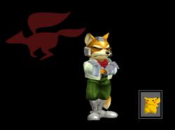 Pose de victoria Fox X (1) SSBM
