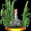 Trofeo de Pikmin Blanco SSB4 (3DS)