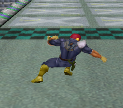 Ataque normal de Captain Falcon (5) SSBM