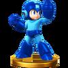 Trofeo de Mega Man SSB4 (Wii U)