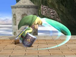 Ataque normal Toon Link SSBB (2)
