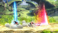 Ataque violento (2) SSB4 (Wii U)