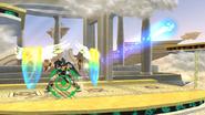 Orbitales escudo Pit Sombrío (2) SSB4 (Wii U)