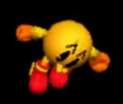 Pac-Man Ataque Fuerte Superior SSB 3DS