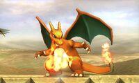 Pose de espera de Charizard (3) SSB4 (3DS)