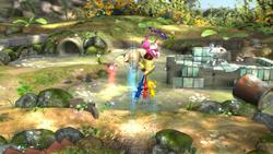 Salto de Pikmin alados (1) SSB4 (Wii U)