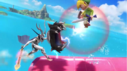 Tiro colmillo dragón Corrin (2) SSB4 (Wii U)