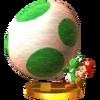 Trofeo de Yoshi's New Island SSB4 (3DS)
