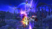 Vampiro interior (aéreo) Bayonetta SSB Wii U