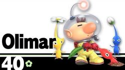 40 Olimar – Super Smash Bros