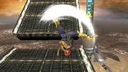Ataque aéreo superior de Captain Falcon SSB4 (Wii U)