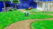 Bloque verde en SSB4 (Wii U)