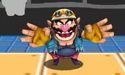 Burla inferior Wario SSB4 (3DS)