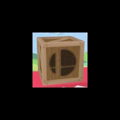 Una <i>caja</i> en <i>Super Smash Bros. Melee</i>.
