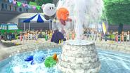 Créditos Modo Leyendas de la lucha Kirby SSB4 (Wii U)