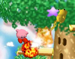 Lanzamiento delantero de Kirby (3) SSB
