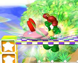 Lanzamiento hacia arriba de Kirby (3) SSBM