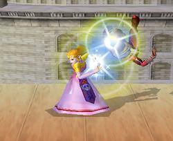 Lanzamiento trasero de Zelda (1) SSBM