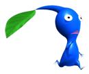 Pegatina del Pikmin azul SSBB