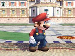 Pose de espera 1 (3) Mario SSBB